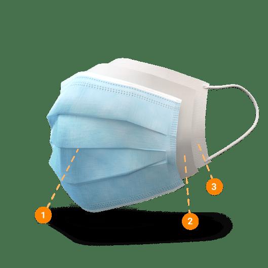 Star Care mascarilla higiénica despiece